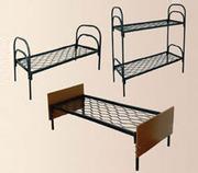 Кровати для бытовок,  кровати металлические для больницы